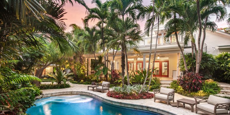 On an island filled with unique and special homes, this masterpiece stands out from the crowd.