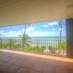 private balcony with ocean views 1500 ATLANTIC Blvd. #110