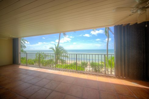 private balcony with ocean views 1500 ATLANTIC Blvd. #110