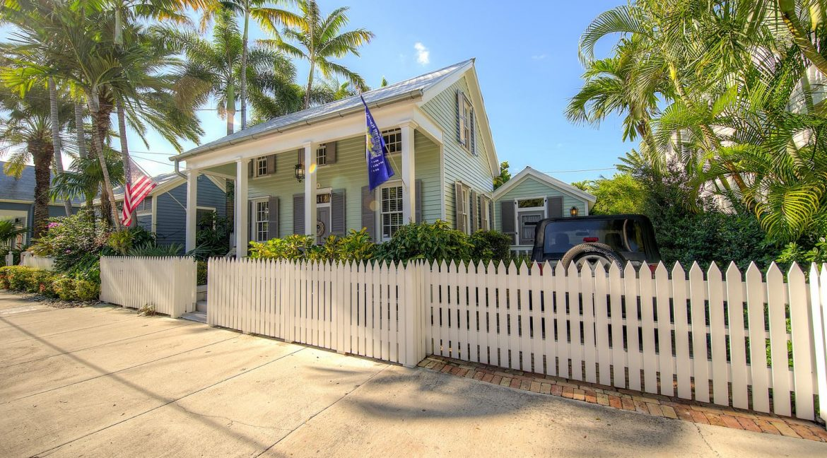 The quintessential home of Old Town Key West